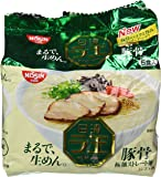 Nissin - Raoh, Japanese Instant Ramen Noodles, Pork Bone Soup, 14.8oz (for 5 Servings)[Japan Import]