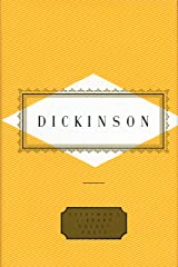Dickinson: Poems (Everyman's Library Pocket Poets Series) Hardcover