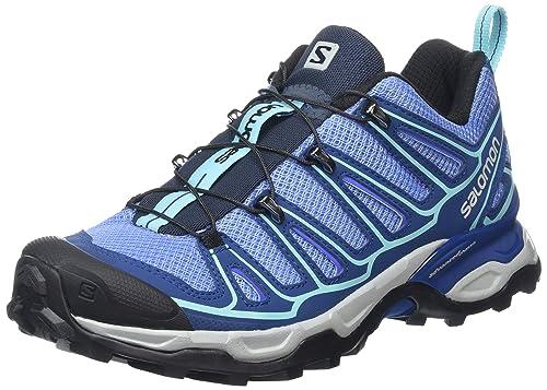 Salomon L37928800, Zapatillas de Senderismo Mujer, Azul (Petunia Blue/Midnight Blue/Wild VIO), 42 2/3 EU: Amazon.es: Zapatos y complementos