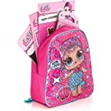 LOL Surprise - Mochila Infantil Lilac/Blue Mermaid/Superhero Sequin Backpack Bundle