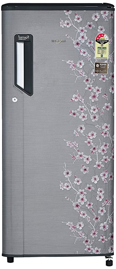 Whirlpool 200 L 3 Star   2019   Direct Cool Single Door Refrigerator  215 IMPWCOOL PRM 3S, Silver Bliss E  Refrigerators