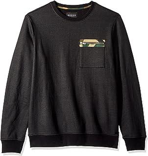 Men's Crew Amazon uk Sleeve co T Short Shirt Clothing Guess Camo Foil 6dwA16qX