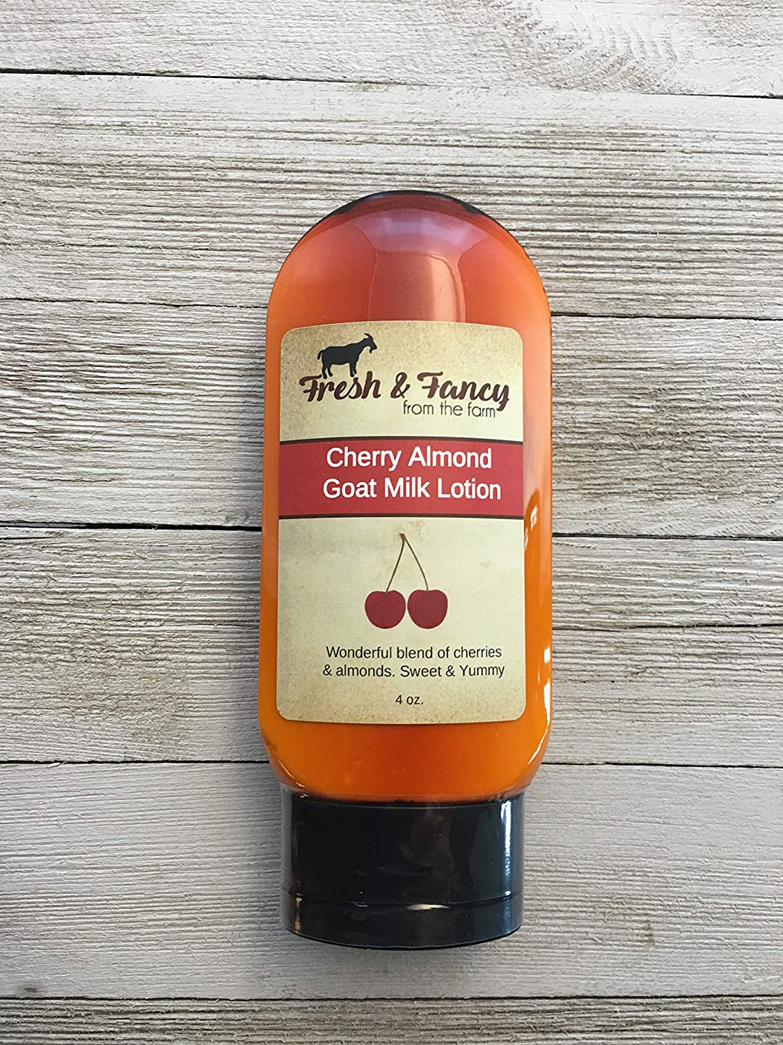 B07DFNVBVW Goat Milk Lotion - Cherry Almond 91DygWnl0hL
