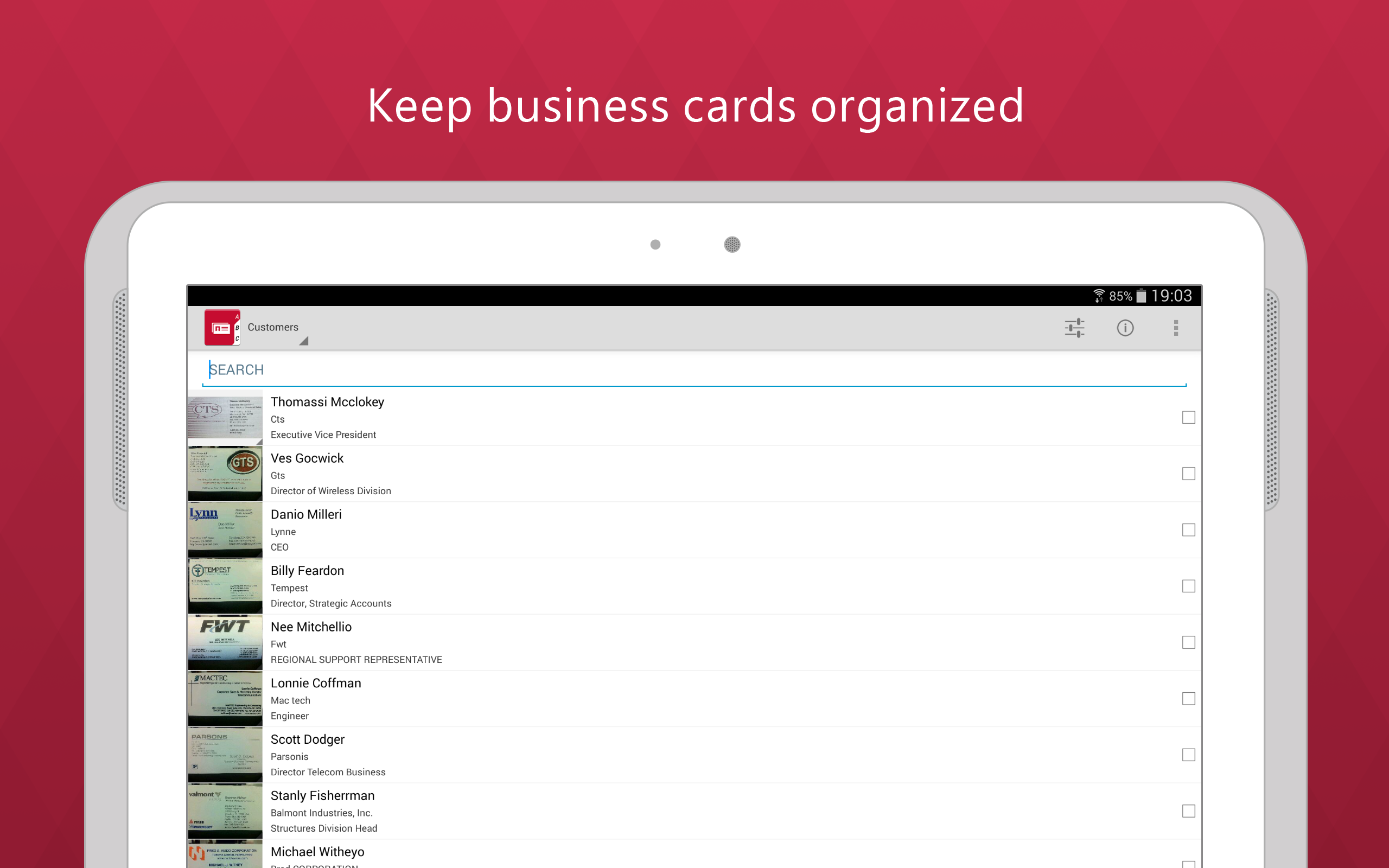 Amazon.com: Business Card Reader PRO: Appstore for Android