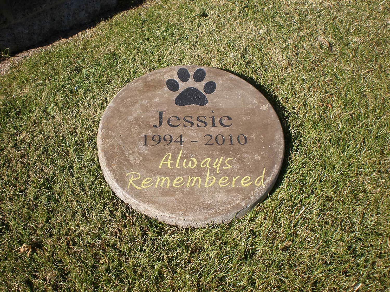 Amazon.com : Pet Memorial Step Stone 11\
