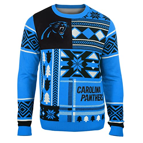 Patches Ugly Crew Neck Holiday Sweater