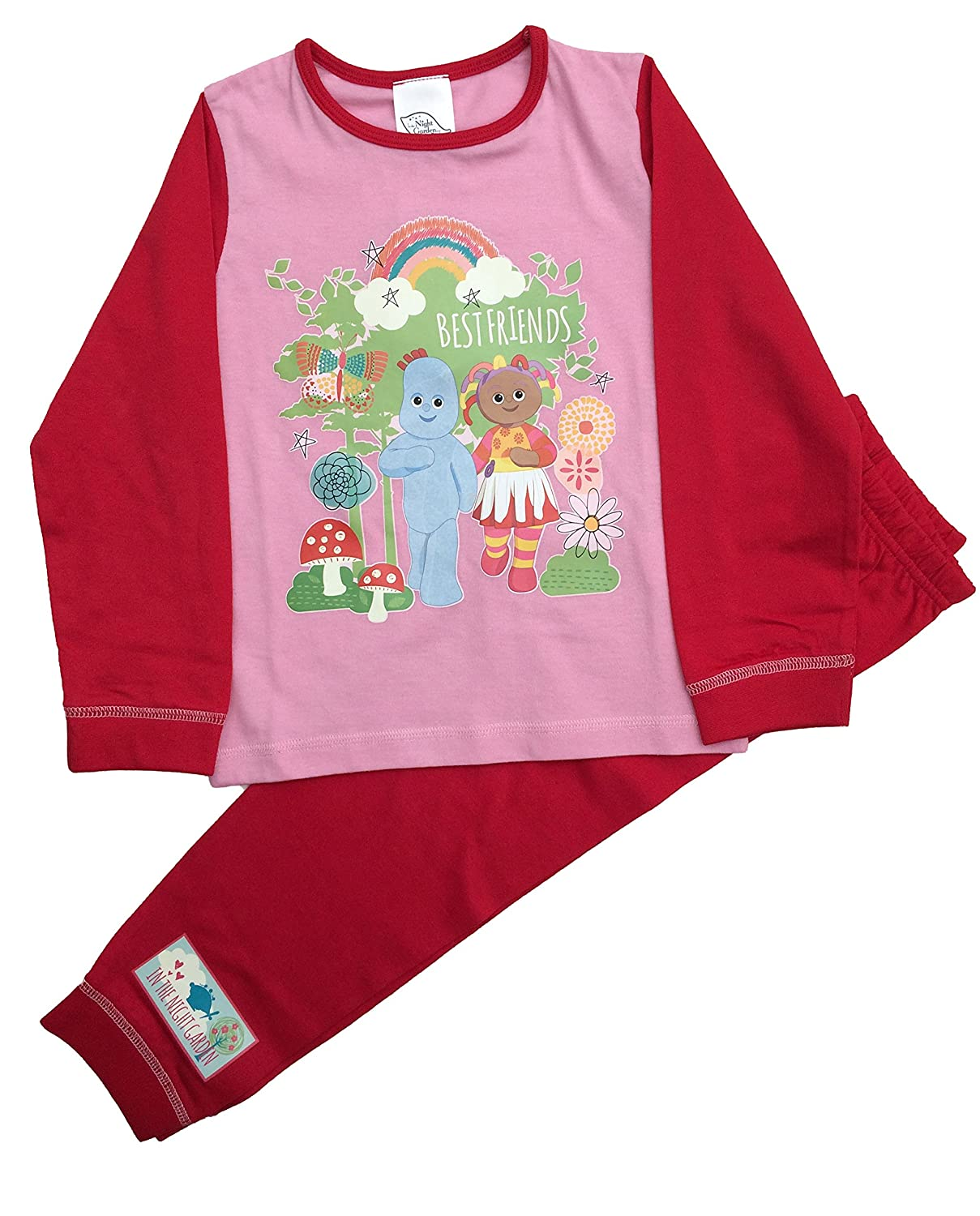 06685a2c3 In the Night Garden Girls Upsy Daisy Snuggle Fit Pyjamas Ages 12 ...