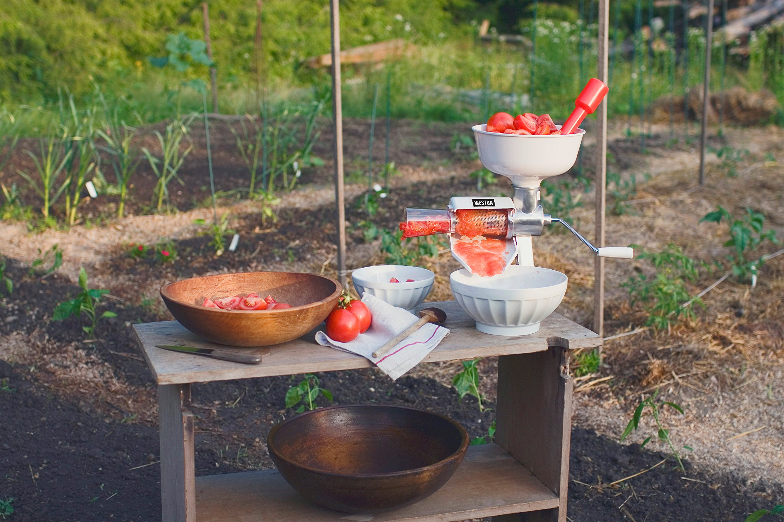 Weston Food Strainer and Sauce Maker for Tomato, Fresh Fruits and Vegetables (07-0801) by Weston (Image #4)