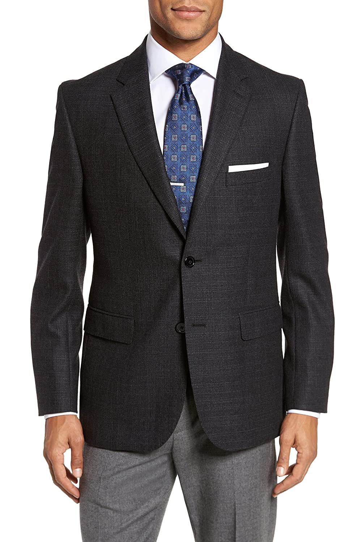 ジェイビー ブリッチズ メンズ ジャケットブルゾン JB Britches Classic Fit Wool Blazer [並行輸入品] B07BF3QXDP 38_R