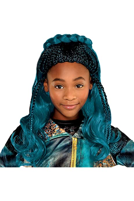 Size Small Includes a Dress with Fringe and Fingerless Gloves Costumes USA Disney Descendants 2 Uma Costume for Girls