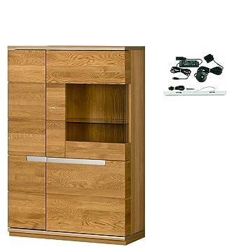furniture24_eu Vitrine Vitrinenschrank Standvitrine TORINO ...
