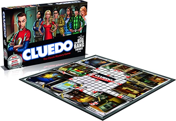 Big Bang Theory Cluedo Board Game: Amazon.es: Libros en idiomas extranjeros