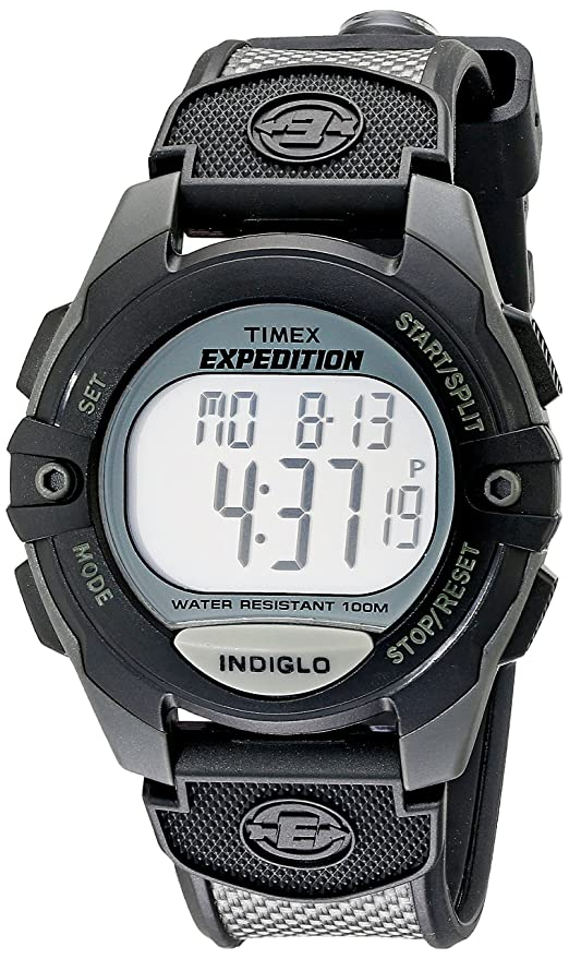 Amazon.com  Timex Expedition Classic Digital Chrono Alarm Timer 41mm Watch   Timex  Watches 019011eec2