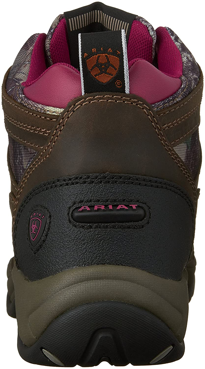 Ariat Women's Terrain Work Boot B00UB6ZINM 5.5 B(M) US|Pink Multi/True Timber