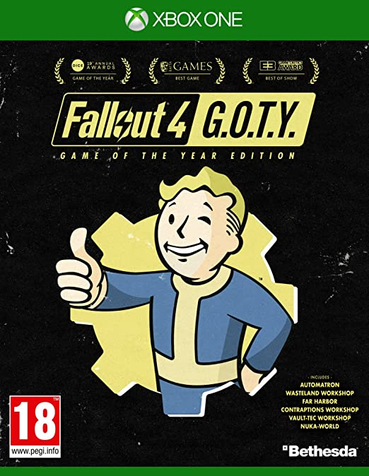 Amazon.com: Fallout 4 GOTY (Xbox One): Video Games