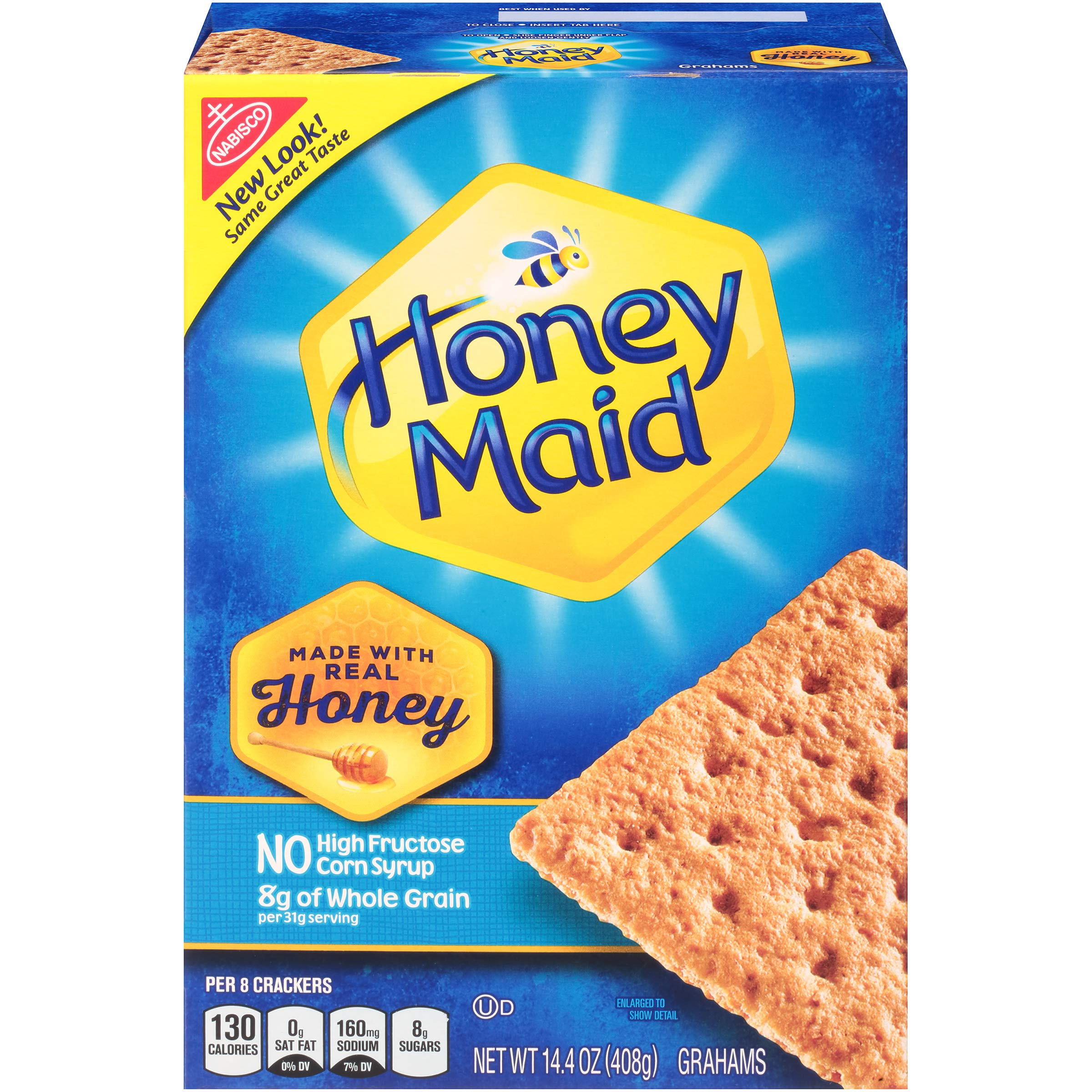 Honey Maid Graham Crackers, 14.4 Ounce, (Pack of 12)
