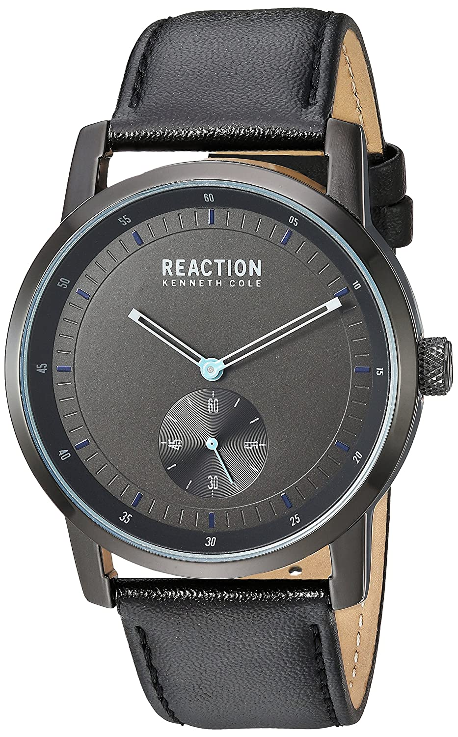 9ccaaa356b8d kenneth cole reaction Men  s Metal de cuarzo reloj Casual