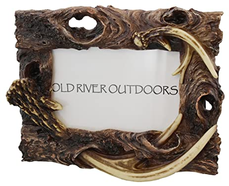 rustic antler driftwood 4x6 picture photo frame - Driftwood Frame