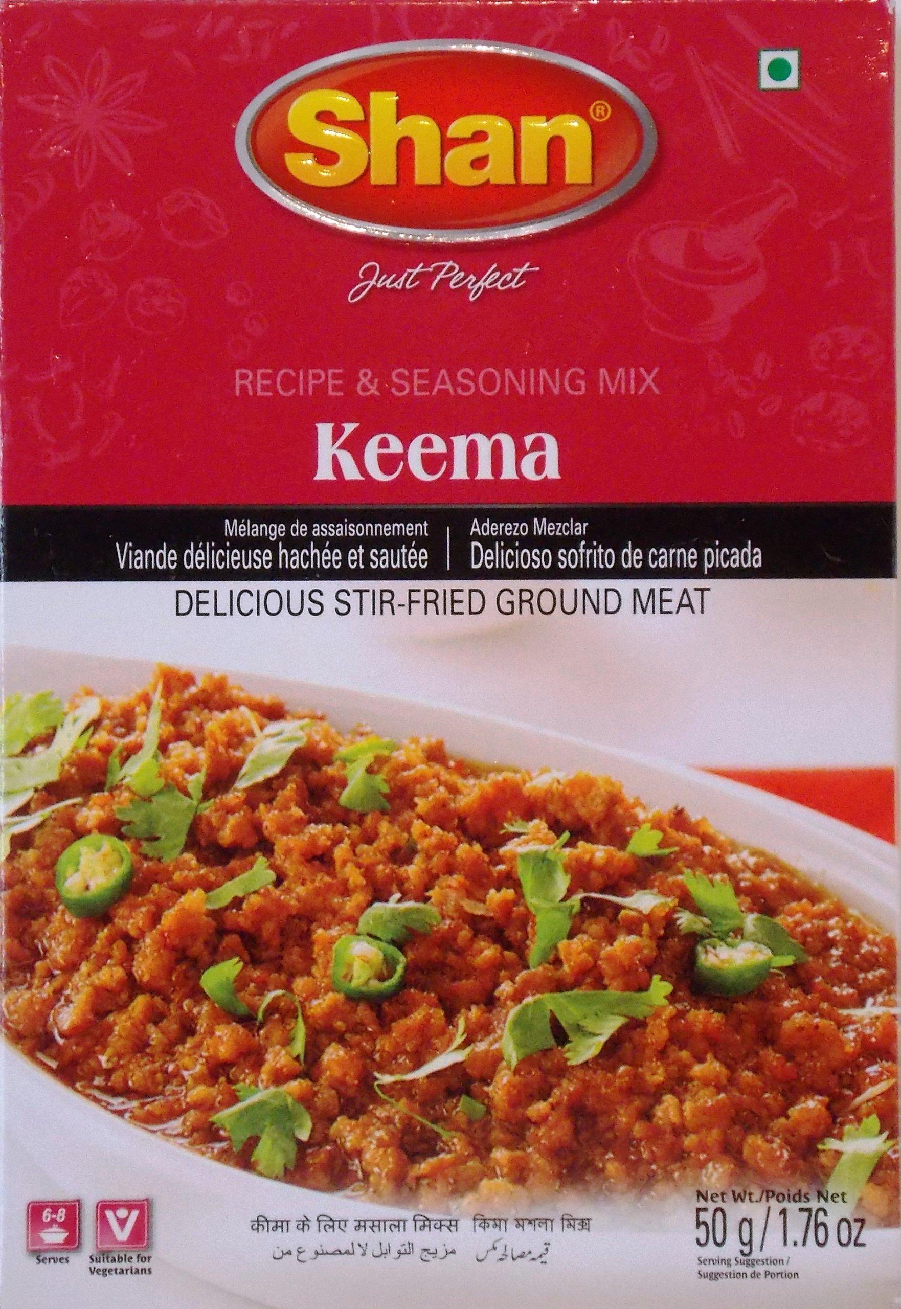 Shan, Seasoning Mix Keema Masala, 1.75-Ounce (Pack of 6)