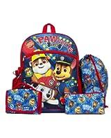 """Nickelodeon Paw Patrol 16"""" Backpack Back to School Essentials Set"""