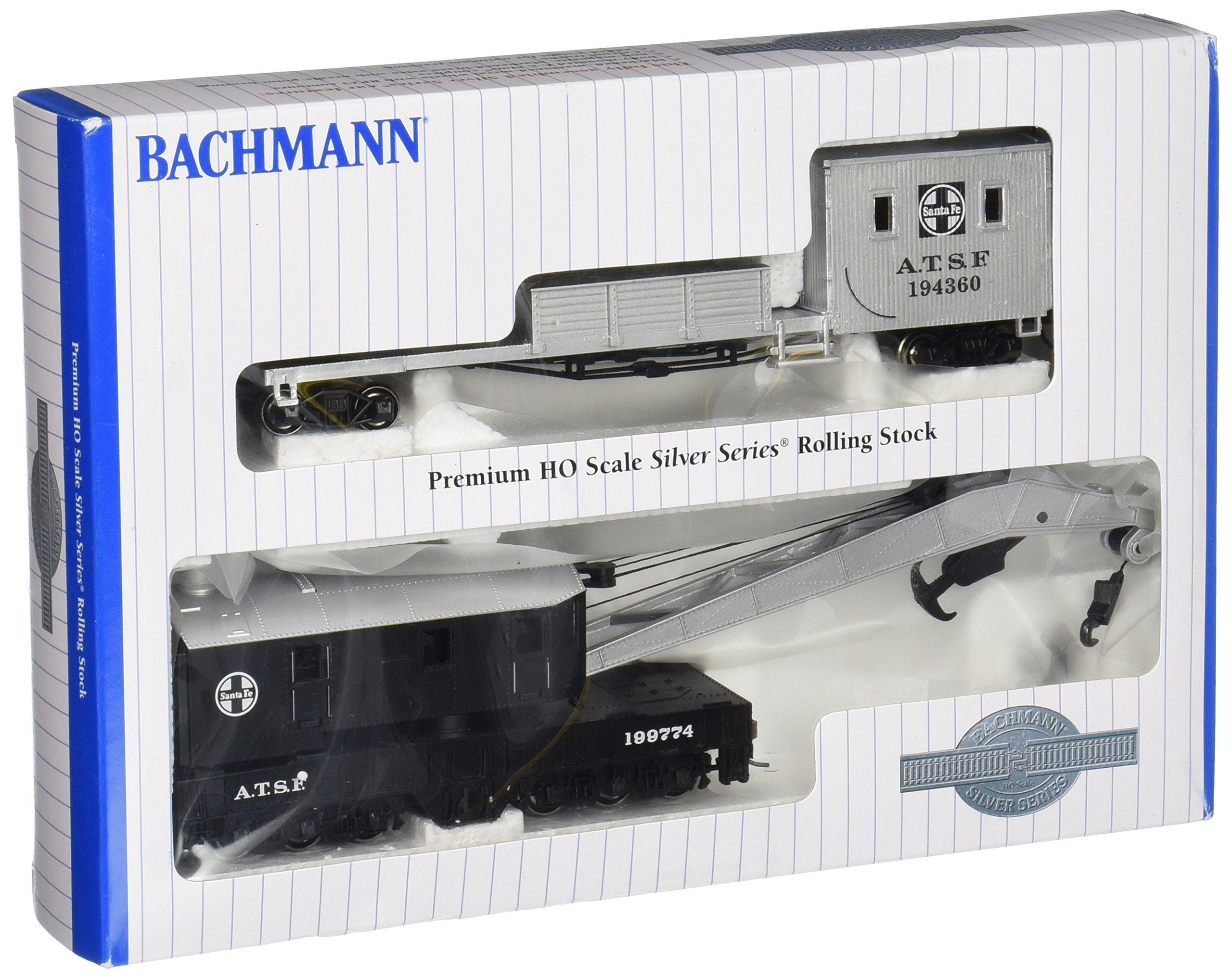 Bachmann Trains Santa Fe (Black and Silver) Boom