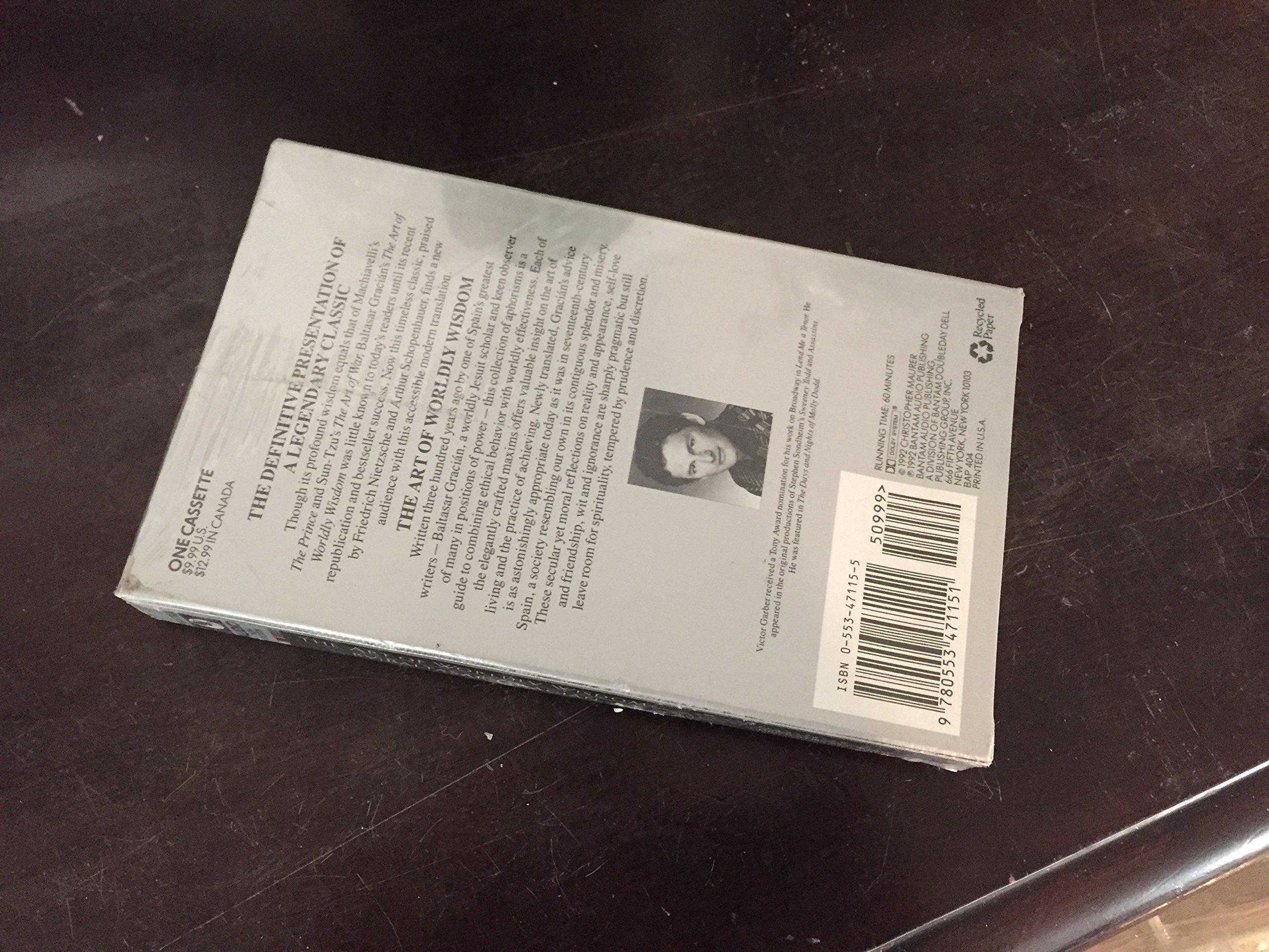 The Art Of Worldly Wisdom: A Pocket Oracle: Baltasar Gracian, Baltazar  Gracian: 9780553471151: Amazon: Books