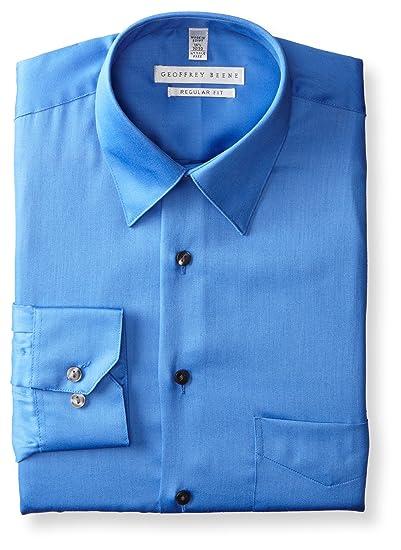718b9deac3 Geoffrey Beene Men s Regular-Fit Sateen Dress Shirt  Amazon.ca ...