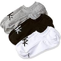 Calvin Klein Underwear Men's Cotton Liners Socks (Pack of 3)