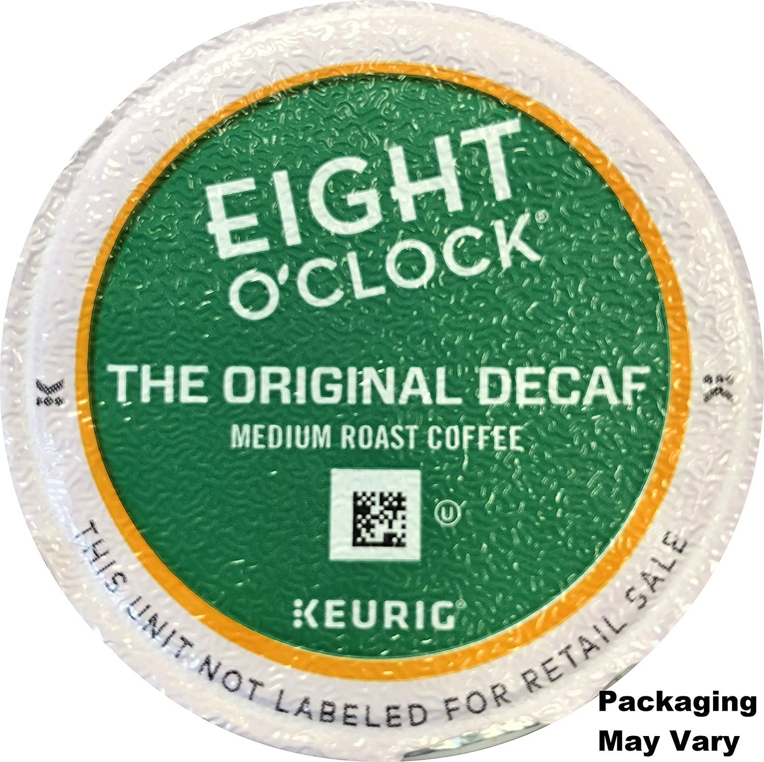 Eight O'Clock Coffee Original Decaf K-Cups - 48 Count (2 boxes of 24 K-Cups Each) - Packaging May Vary
