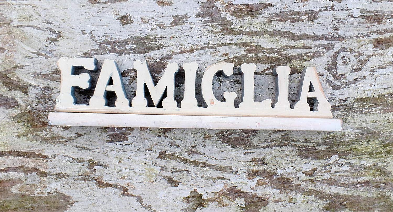 Italian Restaurant Decor, Famiglia Sign Rustic wooden sign Italian Kitchen Decor Reclaimed Wood Sign