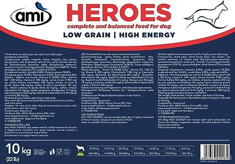 AMI Dog Heroes High Energy 10kg - Pienso para Perros con Alto ...
