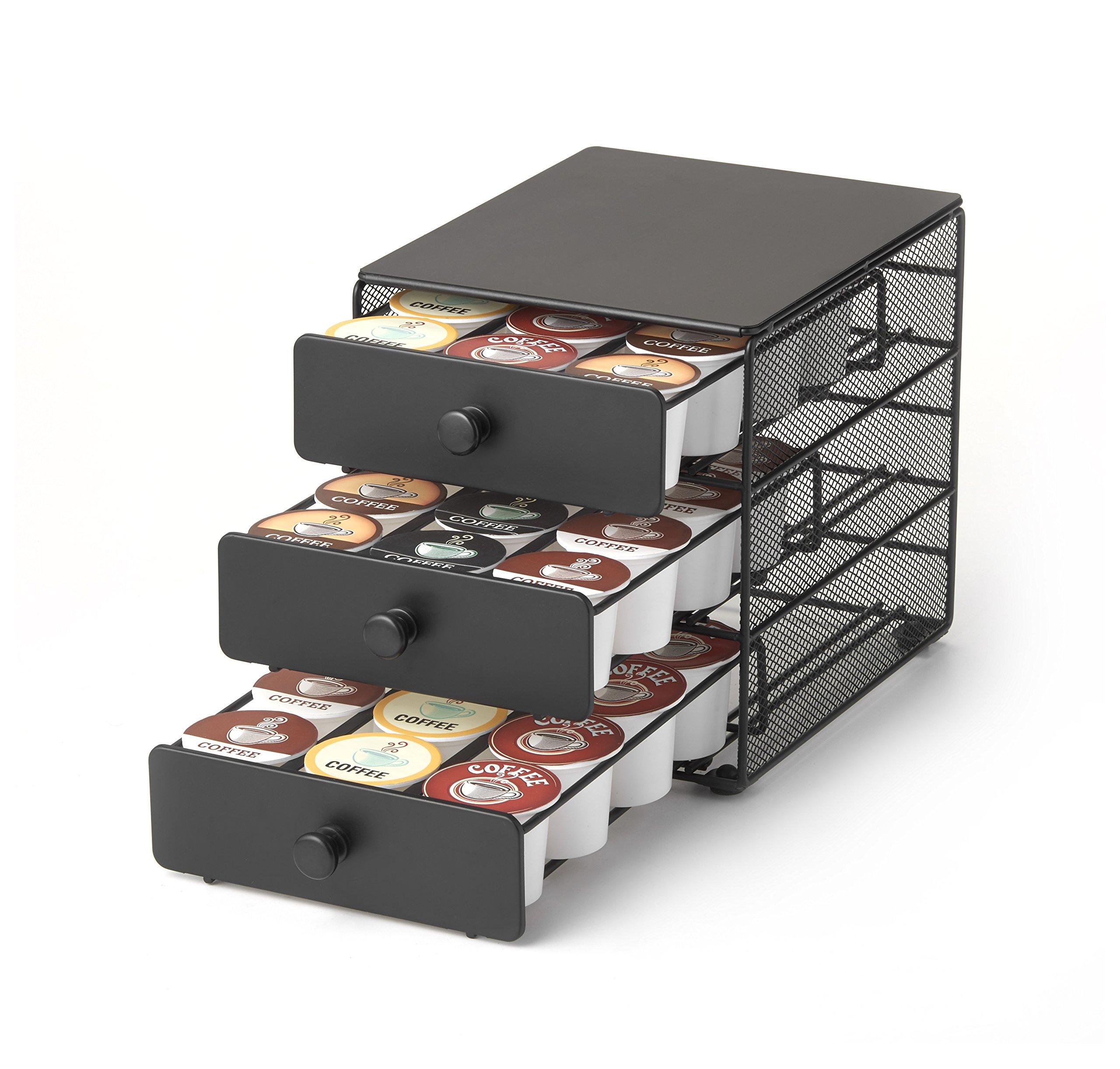 Keurig Brewed 3-tier K-Cup Storage Drawer - 36 Capacity by NIFTY