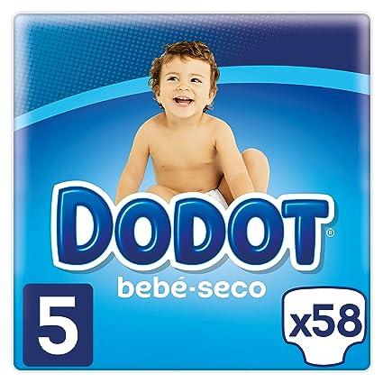 Dodot Pañales con Canales de Aire Bebé-Seco, Talla 5, para Bebes de