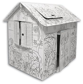 Funny Paper Furniture Casetta Da Dipingere Amazonit Giochi E