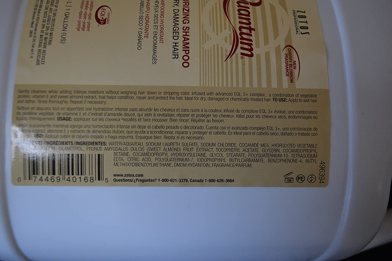 Amazon.com : Quantum Moisturizing Shampoo and Conditioner Set (1 Gallon Each) : Beauty