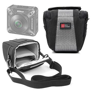 DURAGADGET Funda para Cámara de Acción Nikon KeyMission 80 / KeyMission 360 / KeyMission 170 | con Asa De Hombro Ajustable - Ideal para ...