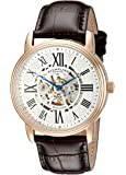 Stuhrling Original Men's 1077.3345K2 Classic Delphi Venezia Stainless Steel Watch with Leather Band