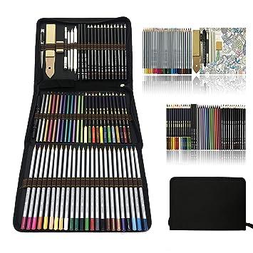 Profesional Lápices De Colores Conjunto De Dibujo Artísticolapiz