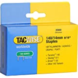 Tacwise 140/ 14mm Staples for Staple Gun (2000)