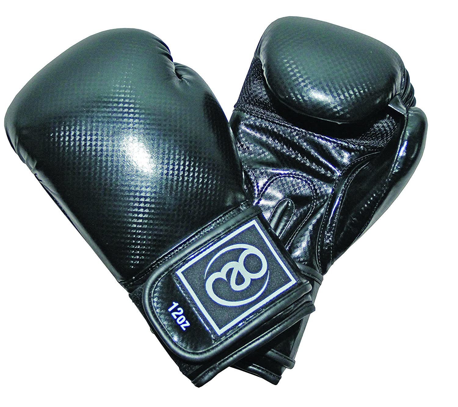 Boxing-Mad Pu carbón - Guantes de boxeo Fitness Mad