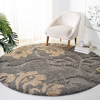 Safavieh Florida Collection SG458-8013 Frieze Shag Area Rug