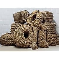 Yute cuerda 100% Natural 30m/ø5mm 10mm 15mm 20mm