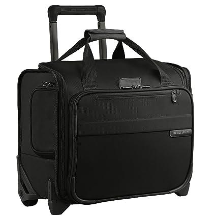 560444680 Baseline Rolling Cabin Bag, 39 cm, 27.8 Liters, Black: Amazon.co.uk: Shoes  & Bags
