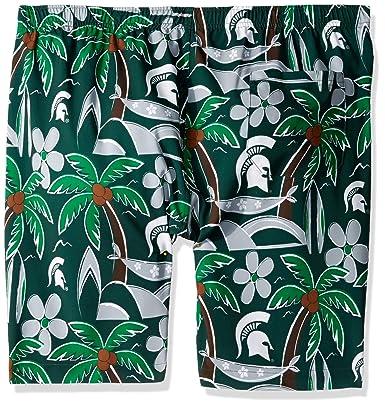 35a1b6fa83 Amazon.com : FOCO NCAA Mens Tropical Swim Suit Trunks : Sports & Outdoors