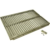 Music City Metals 99161 Stainless Steel Heat Plate Replacement for Select Ducane Gas Grill Models