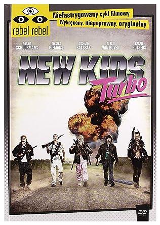 New Kids Turbo [DVD]+[KSIĄŻKA] [Region 2] (IMPORT