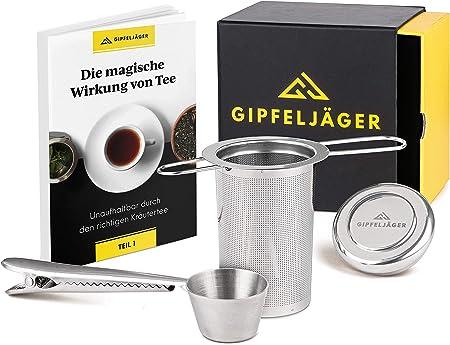 Teesieb Teefilter Edelstahl für Tassen und Kannen Tee Sieb Tee-Ei Filter Tee