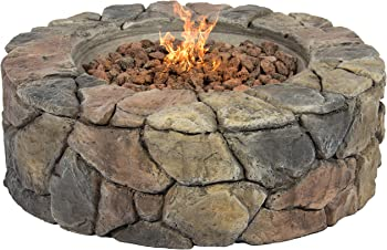 Best Choice Products Stone Design Fire Pit