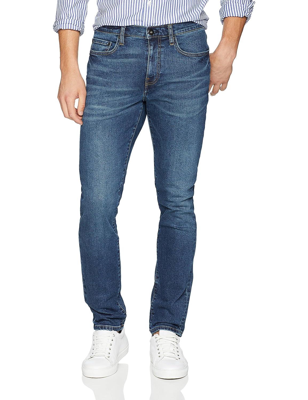 Goodthreads Men's Slim-Fit Jean, Medium Blue, 33W x 32L MGT55000SP18