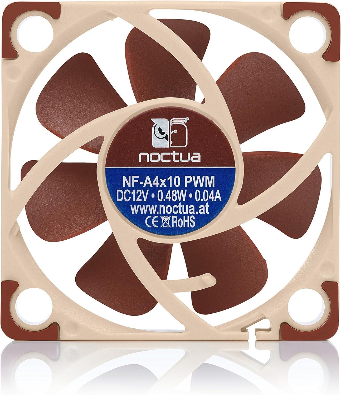 Premium Quiet Fan Noctua NF-A4x10 PWM 4-Pin 40x10mm, Brown
